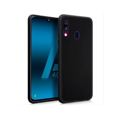 Capa Silicone Premium Samsung A40 A405 2019 Preta
