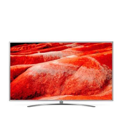 """TV LG 50"""" Ultra HD 4K Smart-TV Preta (UM7600PLB)"""