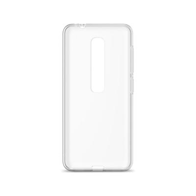 Funda Silicona Vodafone Smart N10 Transparent Fosco