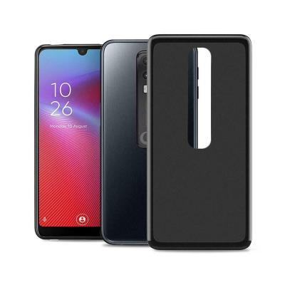 Funda Silicona Vodafone Smart V10 Negro
