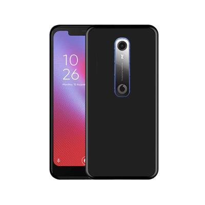 Funda Silicona Vodafone Smart N10 Negro