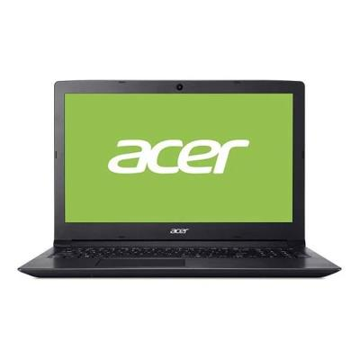"Portátil Acer Aspire 3 15.6"" i5-7200U SSD 256GB/12GB Negro"