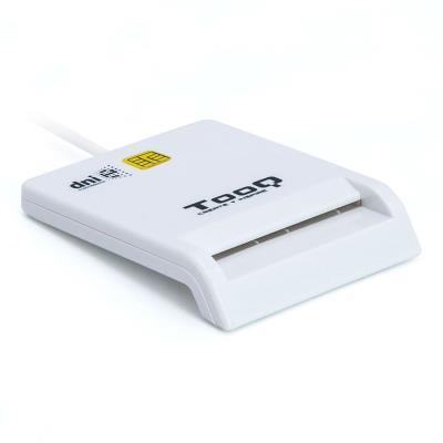 Leitor Cartão Cidadão TooQ USB 2.0 Branco (TQR-210W)