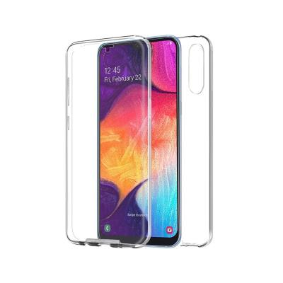 Capa Silicone Frente e Verso Samsung Galaxy A50 A505 Transparente