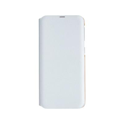 Flip Wallet Cover Original Samsung Galaxy A40 A405 White (EF-WA405PBE)