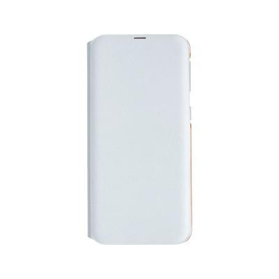 Funda Flip Wallet Original Samsung Galaxy A40 A405 Blanca (EF-WA405PBE)
