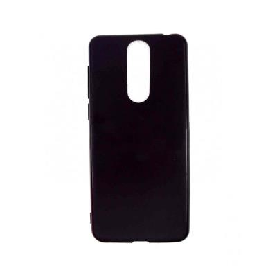 Silicone Cover Alcatel 3/3L 2019 Black