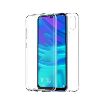 Silicone 360º Cover Huawei Y7 2019 Transparent