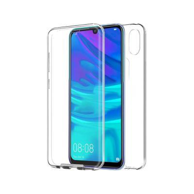 Silicone Frente e Verso Huawei Y7 2019 Transparente
