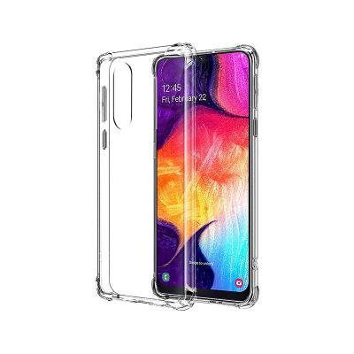 Capa Silicone Anti-Choque Samsung A50 A505/A30s A307 Transparente