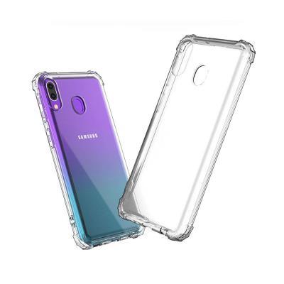 Capa Silicone Anti-Choque Roar Samsung Galaxy A40 A405 Transparente