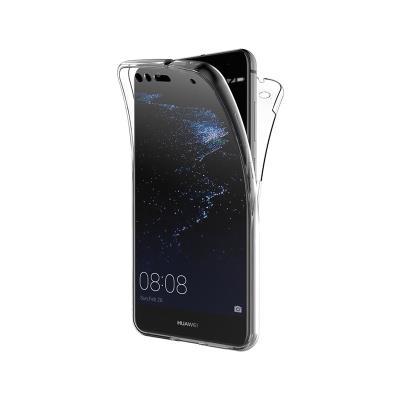 Capa Silicone Frente e Verso Huawei P10 Lite Transparente