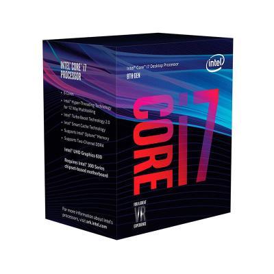 Processador Intel Core i7-8700 6-Core 3.2GHz-4.6GHz Skt1151