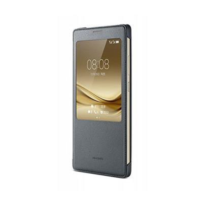 Capa Smart View Original Huawei Mate 8 Cinzenta