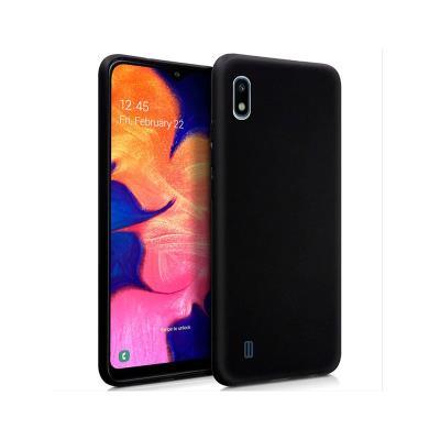 Silicone Cover Premium Samsung Galaxy A10 A105 Black