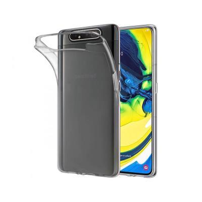 Silicone Cover Samsung Galaxy A80 A805 Transparent
