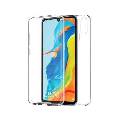 Capa Silicone Frente e Verso Huawei P30 Lite Transparente