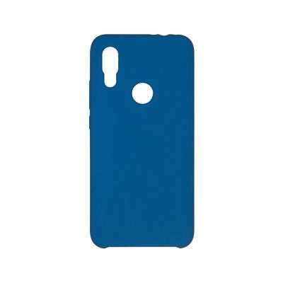 Capa Silicone Premium Xiaomi Redmi 7 Azul