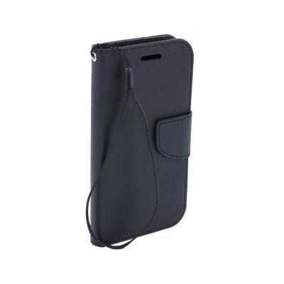 Flip Cover Fancy Samsung A40 A405 Black