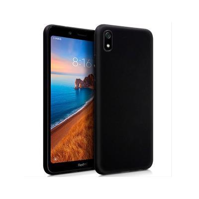 Funda Silicona Xiaomi Redmi 7A Negra