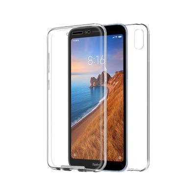 Capa Silicone Frente e Verso Xiaomi Redmi 7A Transparente