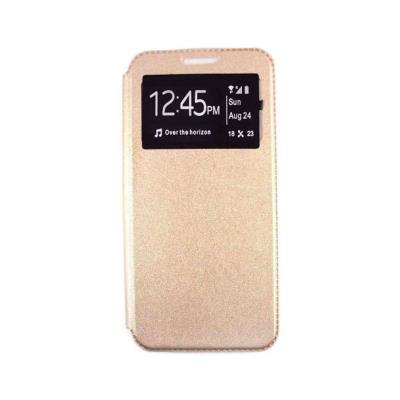 Capa Flip Cover Xiaomi Redmi 7A Dourada