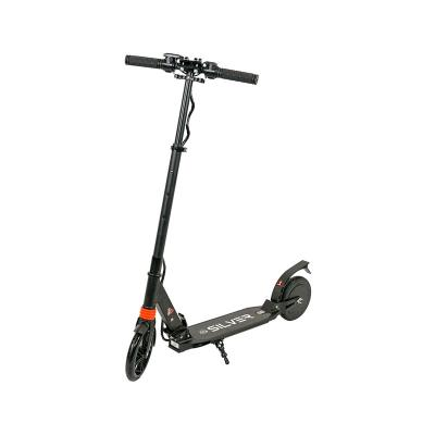 Electric Scooter Silver 240W 21Km/h Black