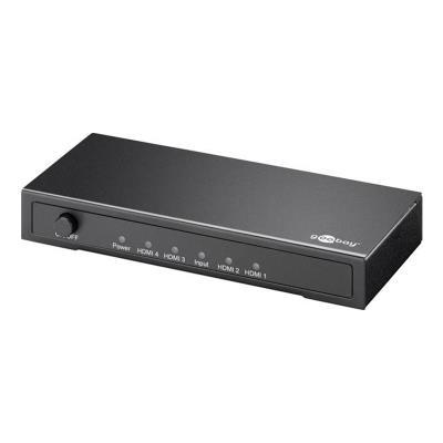 Splitter Goobay 4 Puertos HDMI 4K (SPL58978W)