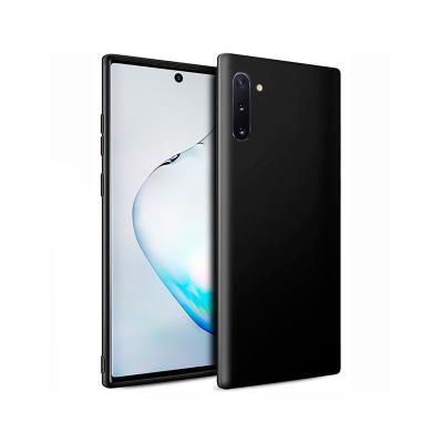 Silicone Cover Samsung Galaxy Note 10 Plus N975 Black