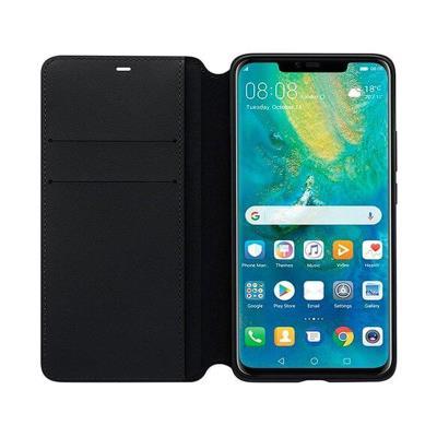 Flip Wallet Cover Original Huawei Mate 20 Pro Black