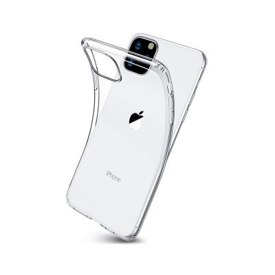 Silicone Cover iPhone 11 Pro Max Transparent