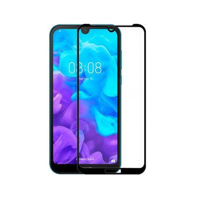 Película de Vidro Temperado Huawei Y5 2019 Fullscreen Preta