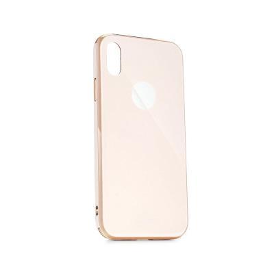 Capa Proteção Forcell Glass Premium iPhone XS Max Dourada