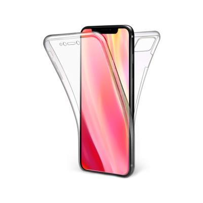 Capa Silicone Frente e Verso iPhone 11 Pro Max Transparente