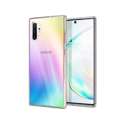 Silicone Liquid Cristal Cover Spigen Samsung Galaxy Note 10 Plus N975 Transparent