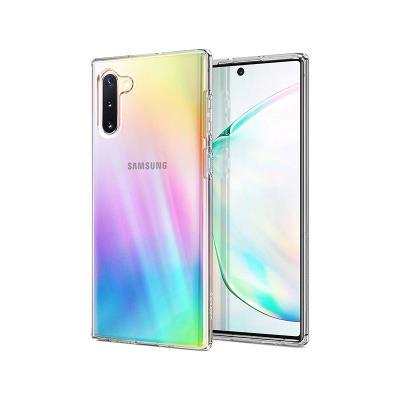 Funda Silicona Liquid Cristal Spigen Samsung Galaxy Note 10 N970 Transparente