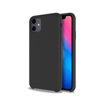 Capa Silicone Premium iPhone 11 Preta