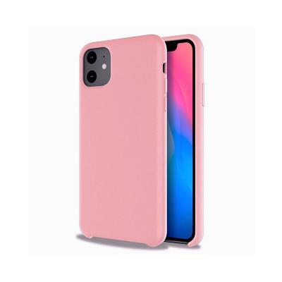 Capa Silicone Premium iPhone 11 Rosa