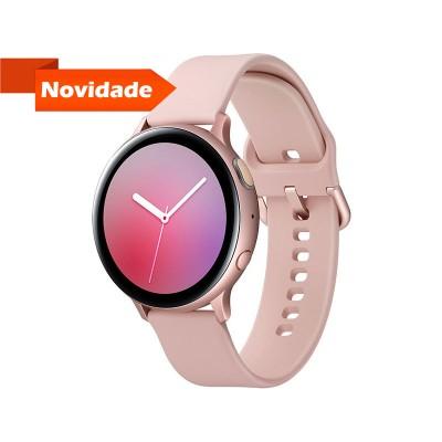 Smartwatch Samsung Galaxy Watch Active 2 40mm Alumínio Rosa Dourado (R830)