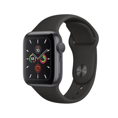 Smartwatch Apple Watch Series 5 GPS 40mm Alumínio Cinzento Sideral c/ Bracete Desportiva Preta