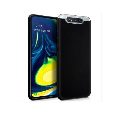 Funda Silicona Samsung Galaxy A80 A805 Negra