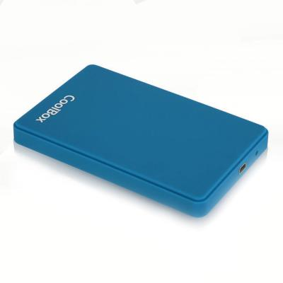 HDD/SSD Enclosure CoolBox HDD/SSD 2.5'' Blue