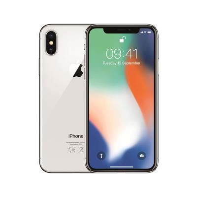 iPhone X 256GB/3GB Prateado Usado Grade C