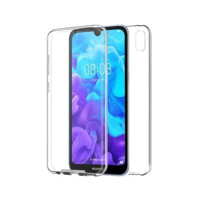 Capa Silicone Frente e Verso Huawei Y5 2019 Transparente