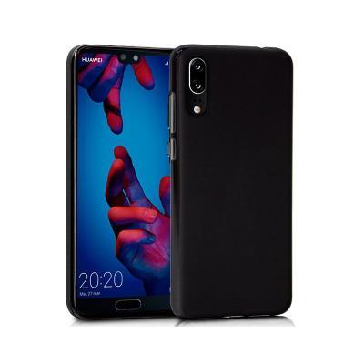 Capa Silicone Huawei P20 Preta