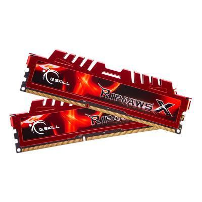 Memória RAM G.SKILL Ripjaws X 16GB (2x8GB) DDR3-1600MHz CL9 Vermelha