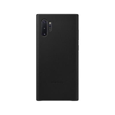 Capa de Pele Original Samsung Galaxy Note 10 Preta (EF-VN970LBE)