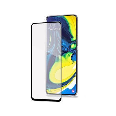 Película de Vidro Temperado Samsung Galaxy A80 A805 Fullscreen Preta