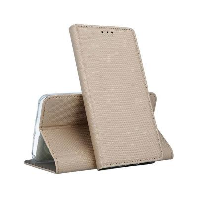 Capa Flip Cover Premium Xiaomi Redmi 7 Dourada