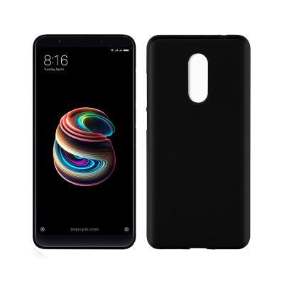 Funda Silicona Xiaomi Redmi 5 Plus Negra
